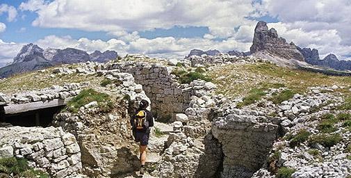 Da Misurina al Rifugio Bosi e  al Museo all'aperto del Monte Piana