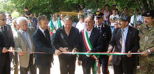 Cerimonia di inaugurazione Monte Cimone